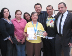 award, employee, Order of Excelence, ministry of labor, Guatemala, Frutera